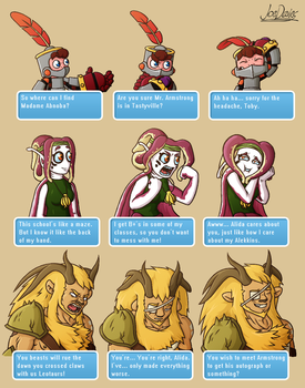 Golden Sky Hero - Dialogue Expressions by The-Quill-Warrior
