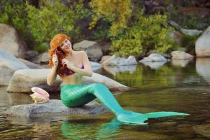 The Little Mermaid Ariel Cosplay by JessicaJazzman