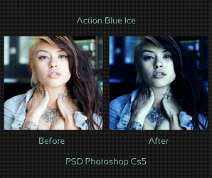 Action Blue Ice by xxMonster-Brianxx