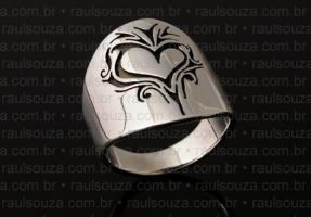 Tribal Heart Ring by raulsouza