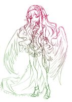 corset and wings... draft by sureya