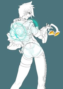 Tracer lineart by takaya