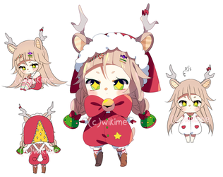 Babyinc Xmas special [adoptable: Open/setprice] by WikiME
