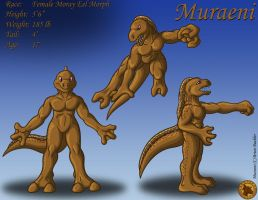 Character Layout - Muraeni by Lysozyme