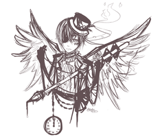 CIEL-KUN WIP DOODLE OR WHATEVER YOU CALL THIS by Akeita