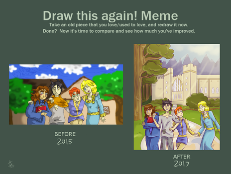 Redraw Meme by SquirrelKitty76