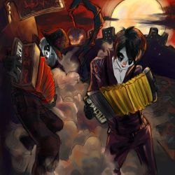 Accordion Halloween Hotness... by melch