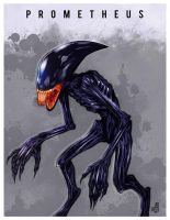 Prometheus alien by M-A-X-O-U