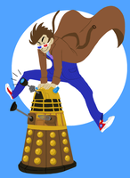 Dave and Dalek by jeresy by kolidescope