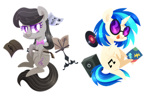 Musical pones by Yaaaco17