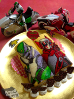 Tiger and Bunny Roll Cake for Valentine's Day! by kawaiikakkoiisugoi