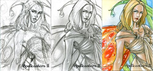 Spellcaster Fairy 5 by Csyeung