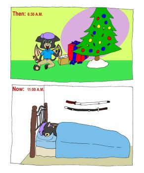 Frocta Christmas Then and Now by frocta