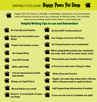 Writing-style-guide2 by LBaehman