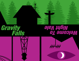 Welcome To Gravity Falls by NocteDesign