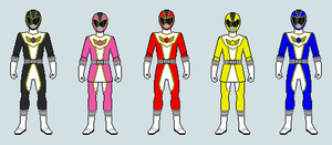 Power Rangers Project Velocity Sprite Version by FlamethrowerMan09