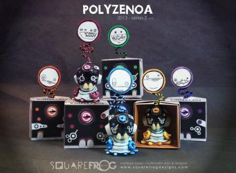 Polyzenoa 1-6 by SquareFrogDesigns