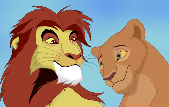 Lovers: Tanglemane and Sarafina by NewSea-ANother