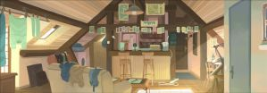 Mikisha Throen's place by Nesskain
