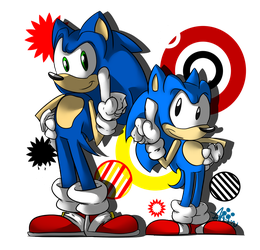 We're The Number One Hedgehogs! by wolfiisaur