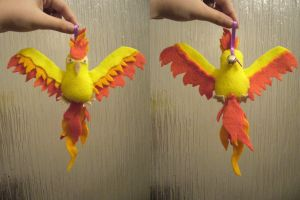 Moltres Bell Plush by Sexual-Pancake