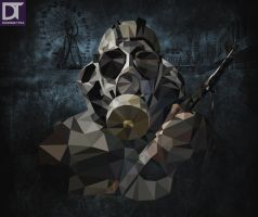 Low Poly - Stalker by artdigitalazax