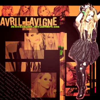 Avril Lavigne by PabeEditions