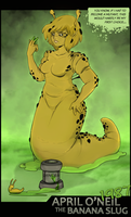 April the Banana Slug 1987 by Chronorin
