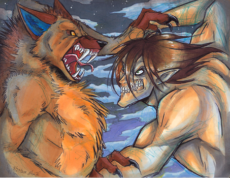 Teach Me to Fight Like a Titan by Stray-Sketches