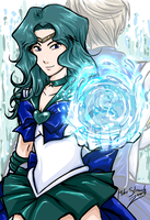 Sailor Neptune by Famove