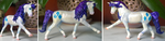 Rarity horse model by QueenAnneka