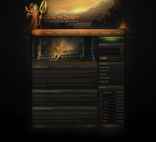 GuildCraft Website Design by ZafireHD
