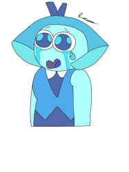 Crying Aquamarine  by peridot-the-gem-8