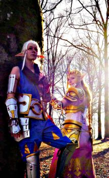 Hyrule Warriors: A Princess and her Attendant by StarMintsCosplay