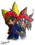 .:Comission for DyingSkyLight:. by SpringySweet
