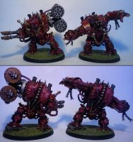 Helbrutes of Khorne by Majere613