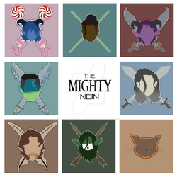 The Mighty Nein by TheAnonymousMusician