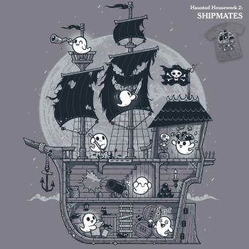 Ghost Shipmates - tee by InfinityWave