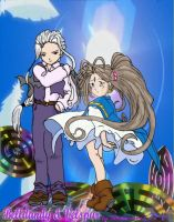 Belldandy and Velspur by Kato-Shiroi