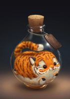 Tiger potion by Silverfox5213