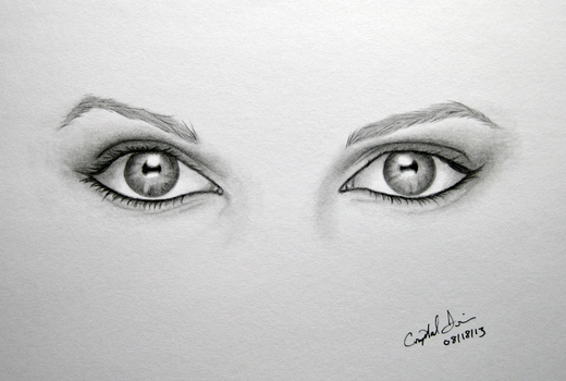 Beautiful Eyes by Crystal-Cat