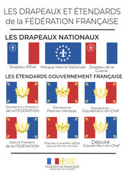 Flags and Standards of the French Federation by FitzGeraldian