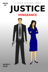 Justice Vengeance #1 Comic Book Cover by DTrinidad