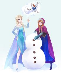 Do you want to build a snowman by nairchan