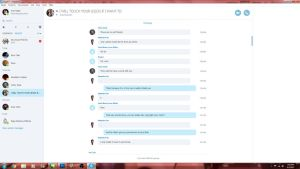 Skype chat Screenshots Ex1 by SafireCreations