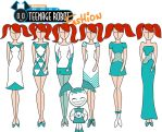 My life as a Teenage Robot fashion: Jenny by Willemijn1991