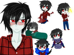 Marshall lee y chibis