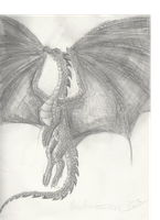 Graphite Dragon by Rainpath12