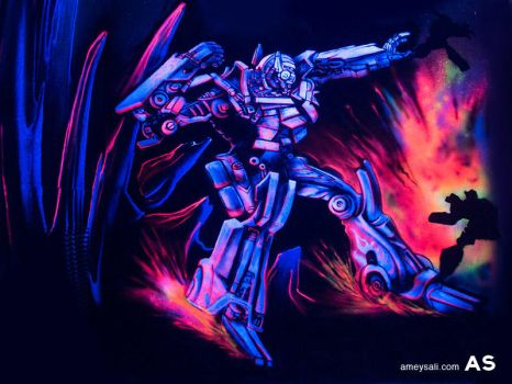 Optimus Prime by AmeySali