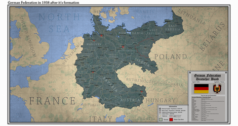 German Federation in 1938 by Breakingerr
